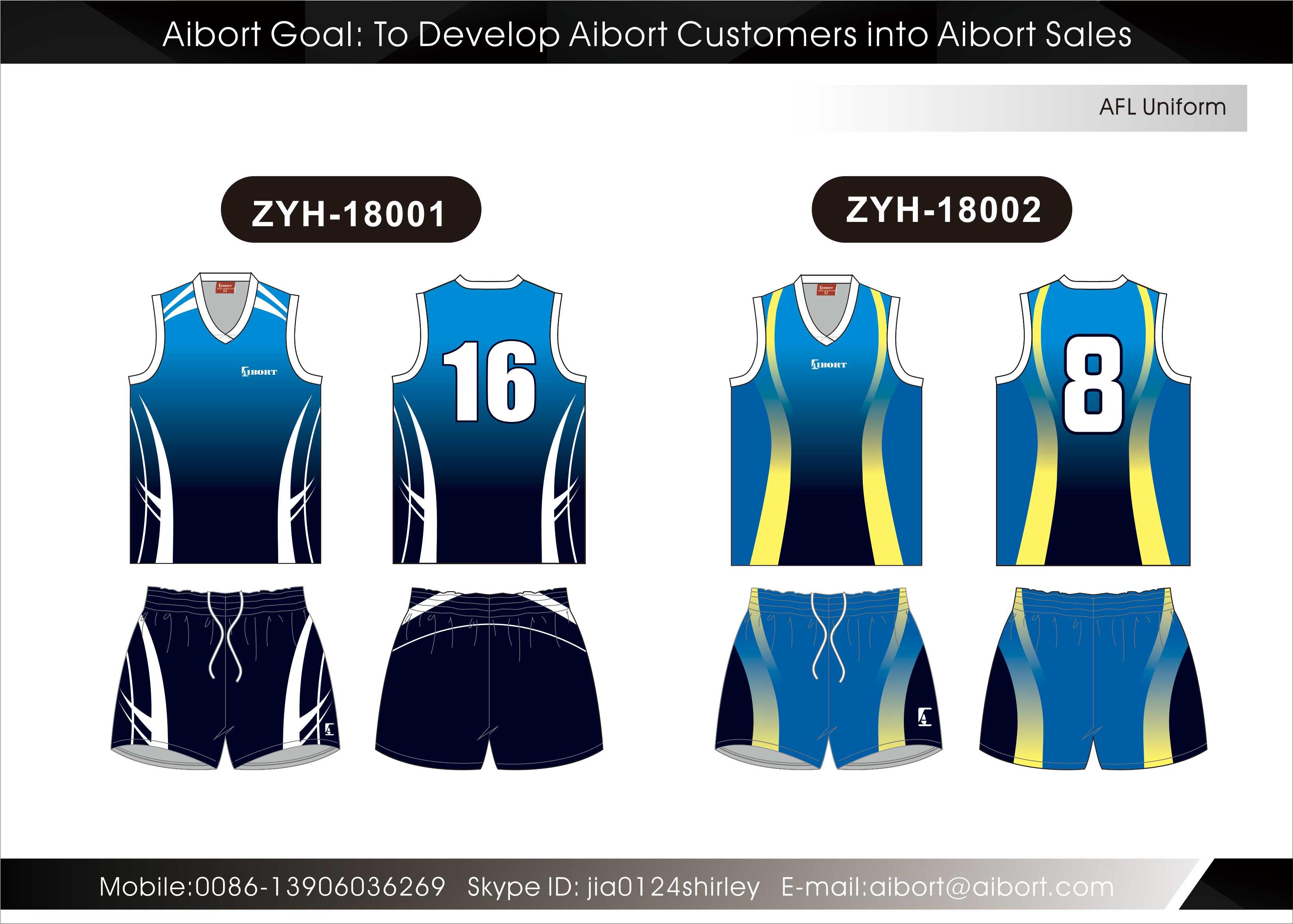Custom Design Jersey Maker Womens Afl Teams Football Guernsey