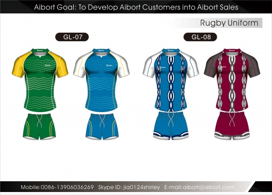 e7884ab9e93fb Custom Sublimated Printing Rugby Teamwear Jersey with Your Own Design