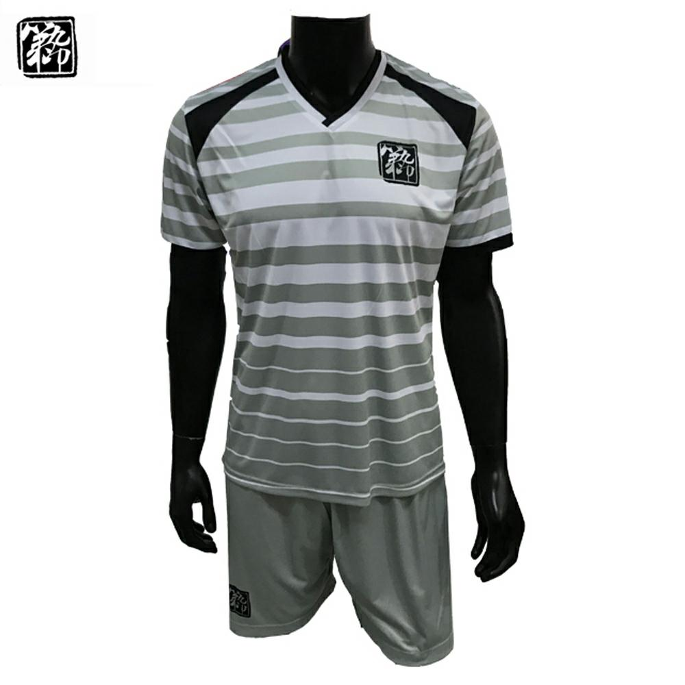 custom colorful china Xiamen cheap football teams t shirts wholesale  sublimated stripe soccer jersey c35091bb6