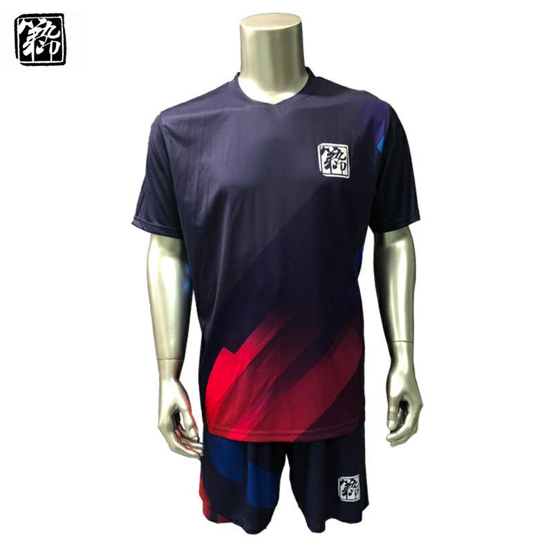 842c22a0f89 Custom full over sublimation digital printing soccer jersey uniform ...